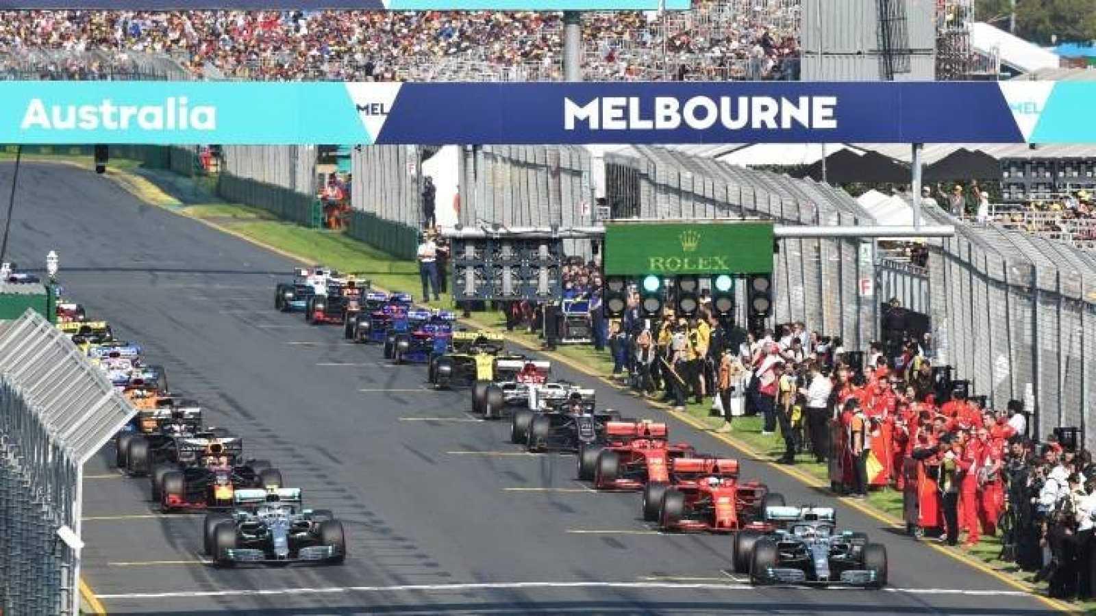Imagen de archivo del GP de Australia en Melbourne Park