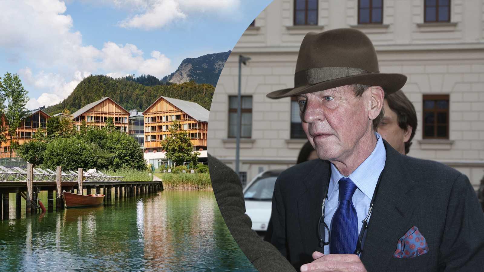Ernesto de Hannover ingresa en una clínica de lujo para desintoxicarse