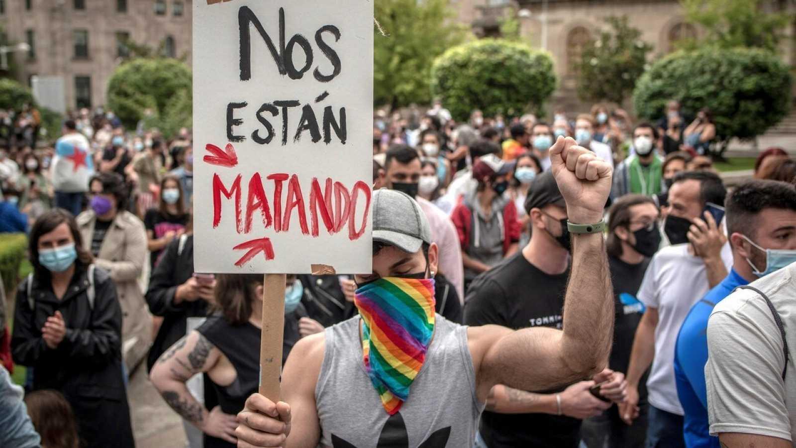 Manifestaciones Samuel Luiz
