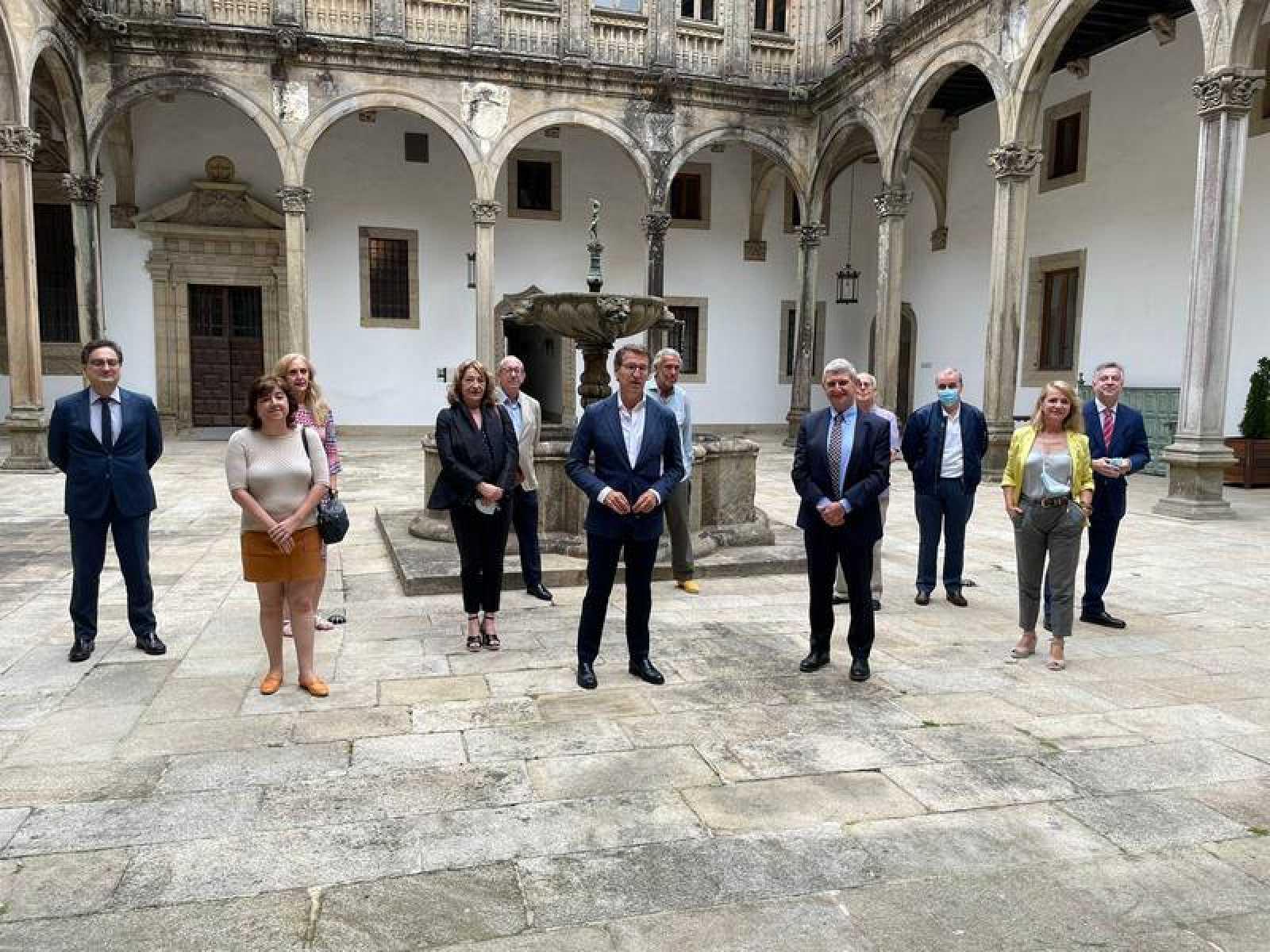 El Consejo de Administración de RTVE se reúne en Santiago de Compostela con motivo del 50 aniversario del Centro Territorial de Galicia