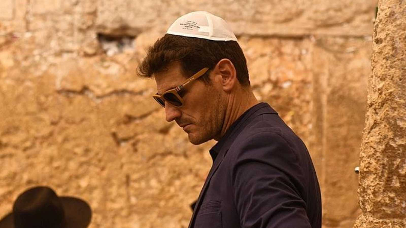 Iker Casillas, 'pensando' en Jerusalén