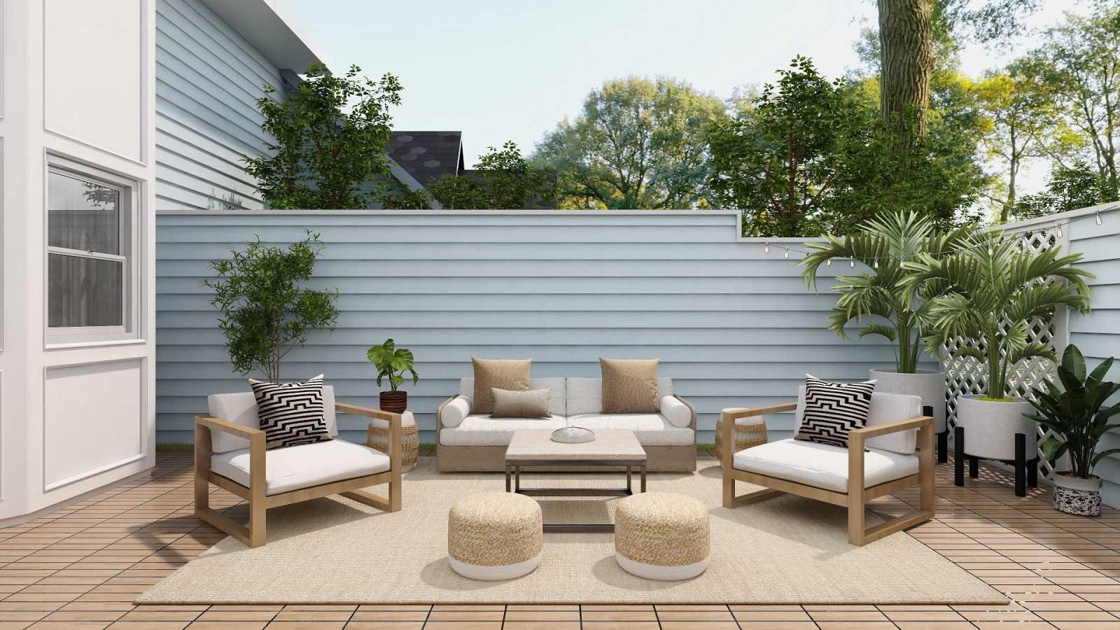 Una terraza bien decorada se convierte en la verdadera protagonista de la casa en verano