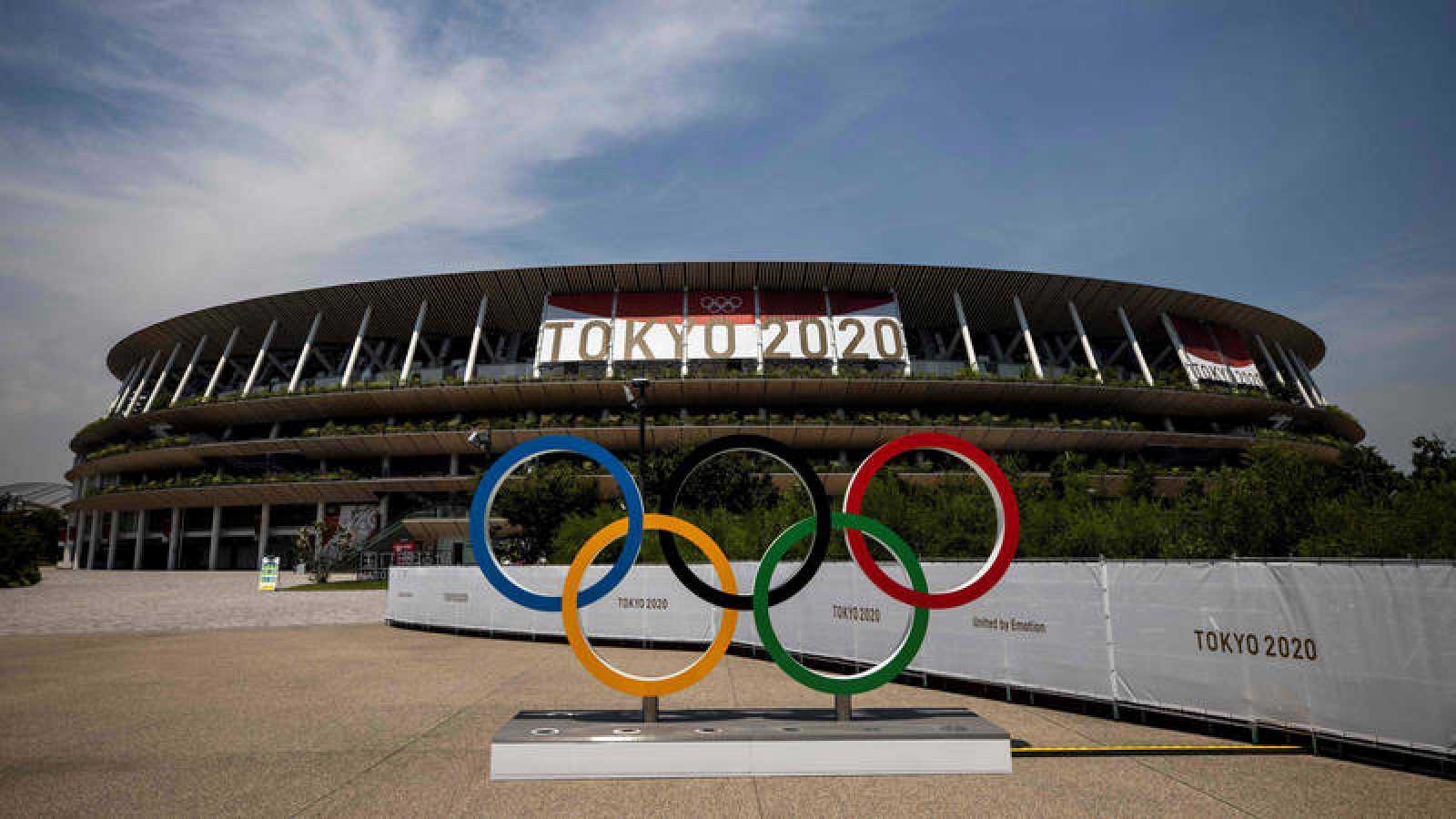 Estadio olímpico de Tokyo 2020.
