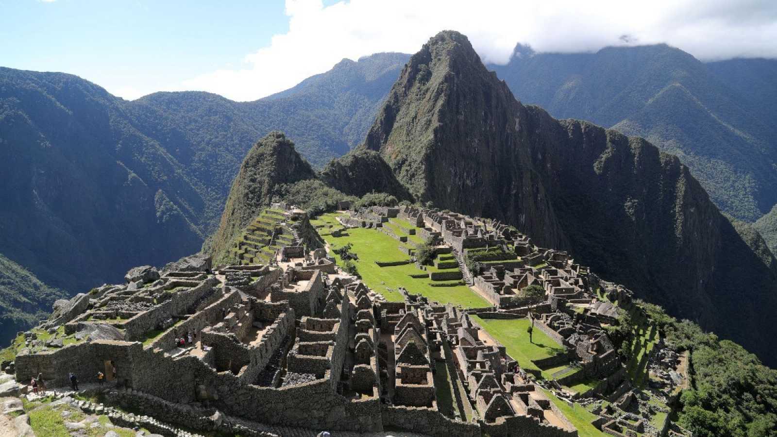 La ciudadela de Machu Picchu en Cusco, Perú