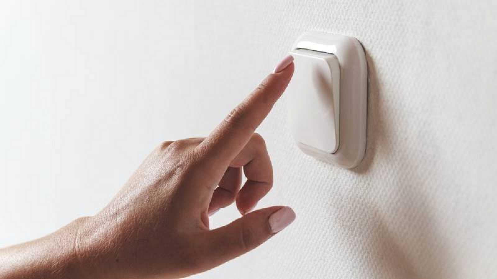 Un interruptor de luz