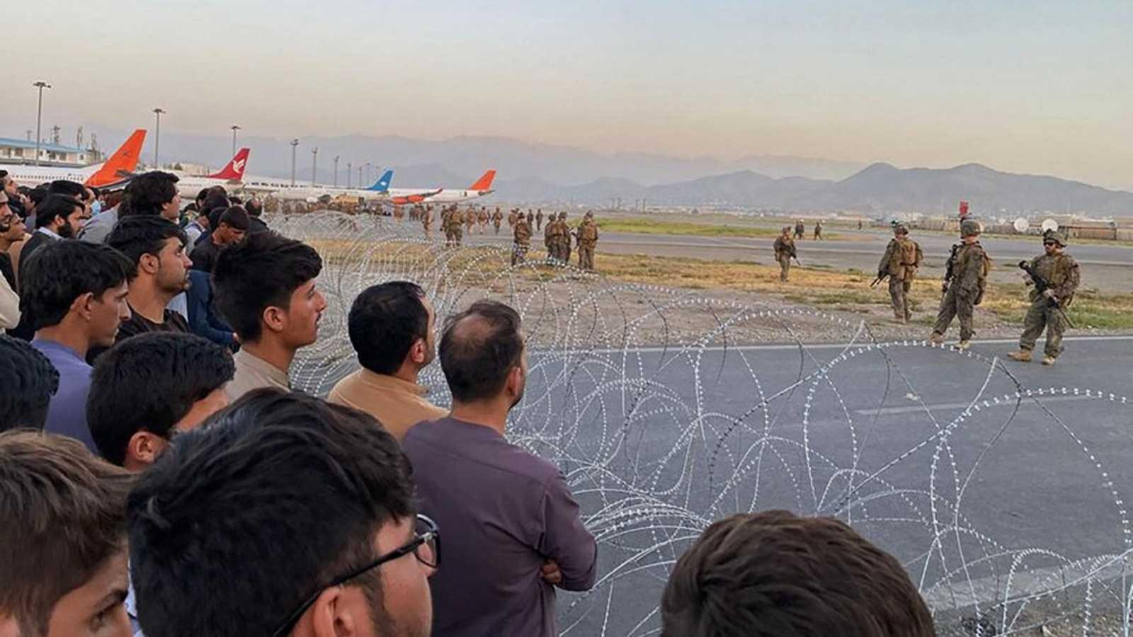 Edición especial del Telediario 2 por la crisis en Afganistán