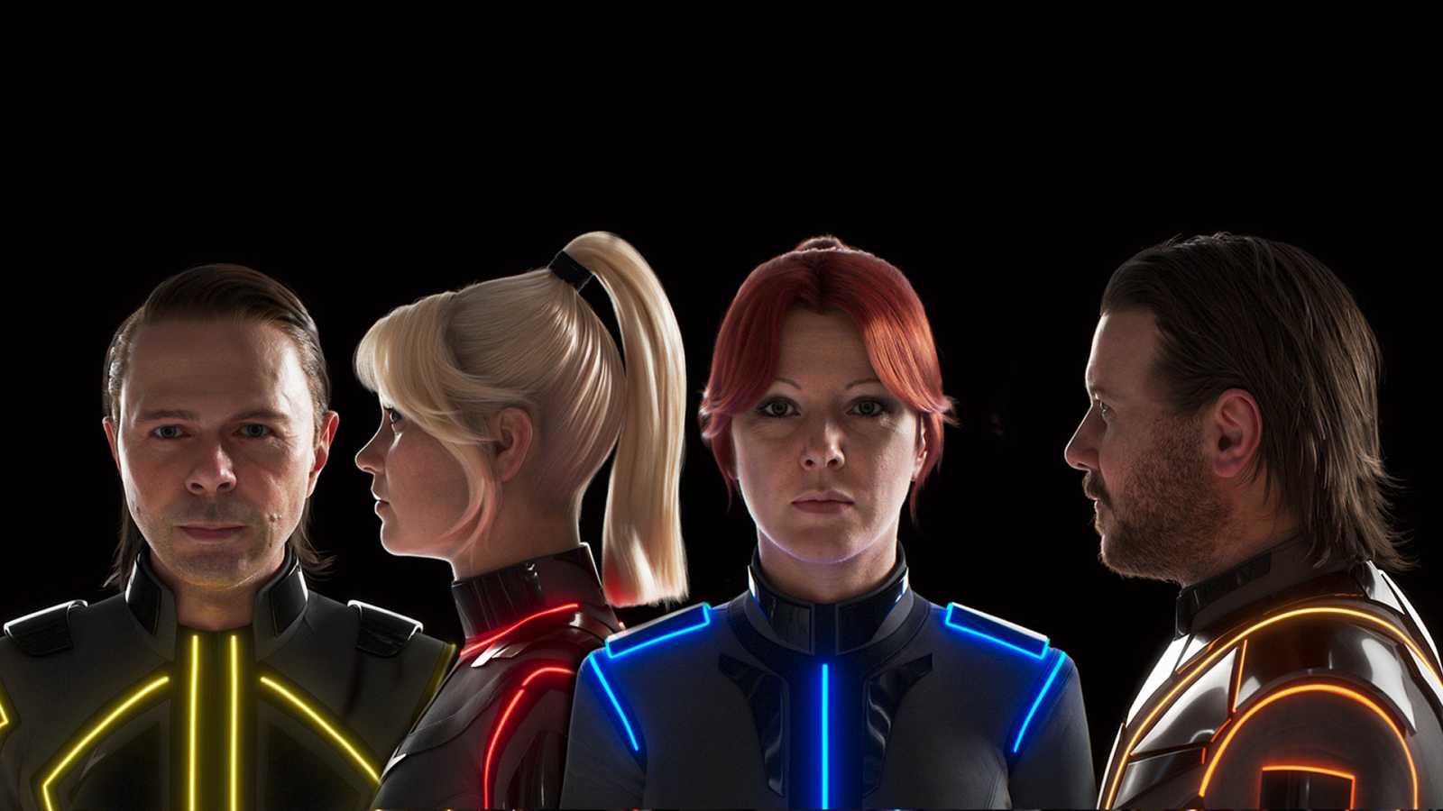 ABBA vuelve a los escenarios de manera totalmente virtual