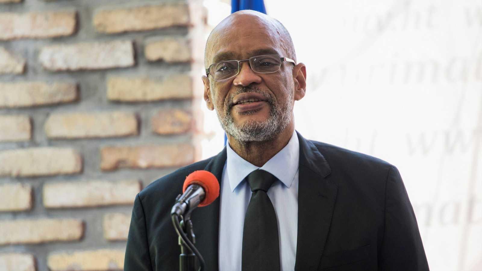 El primer ministro haitiano Ariel Henry