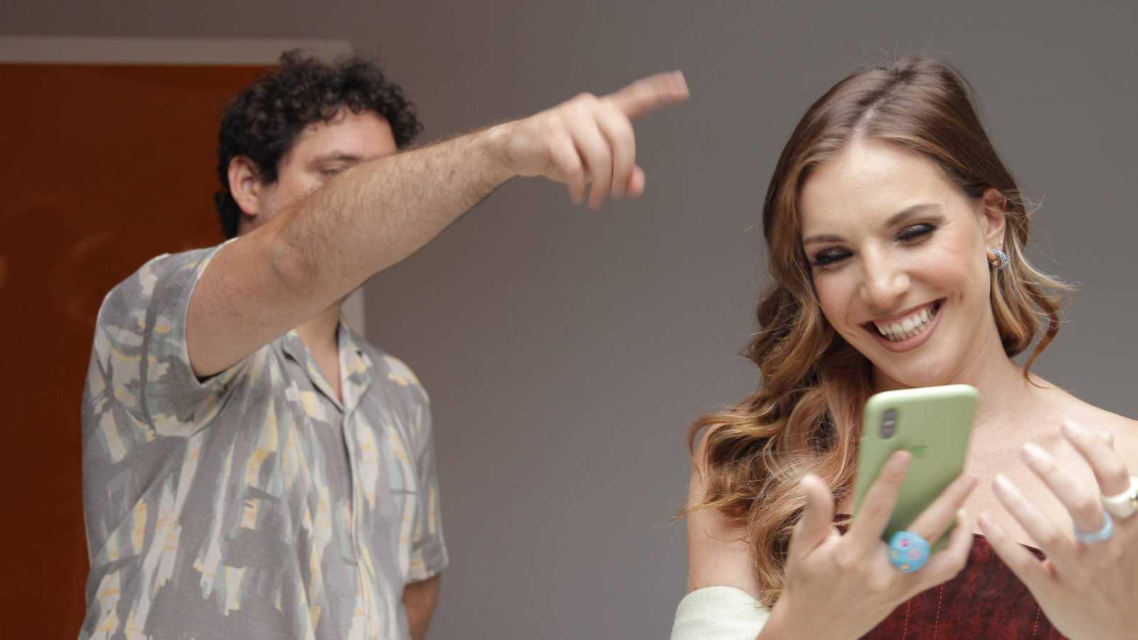 Inés Hernand y Darío en Gen Playz de verano