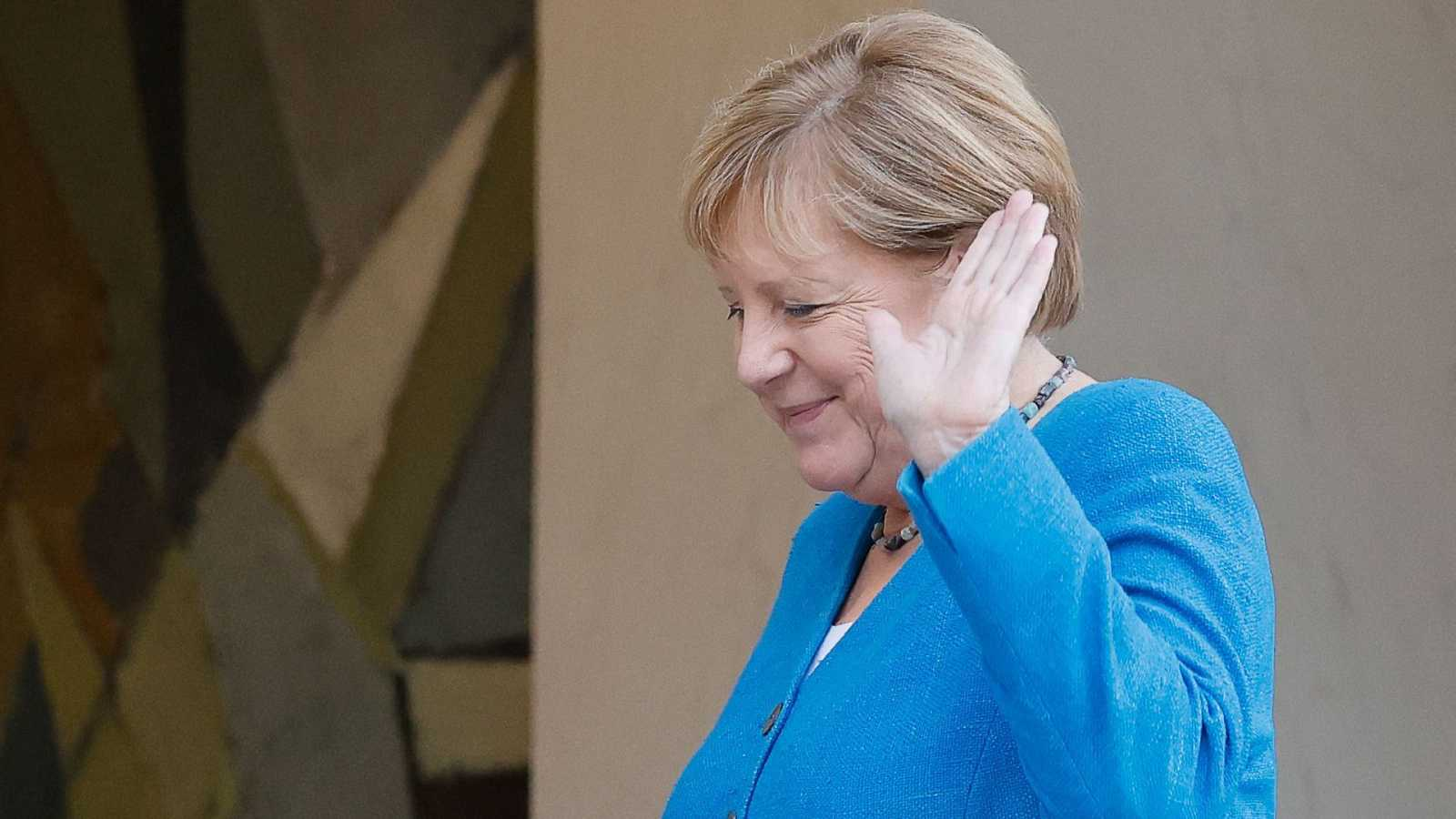La canciller alemana, Angela Merkel, en un acto reciente