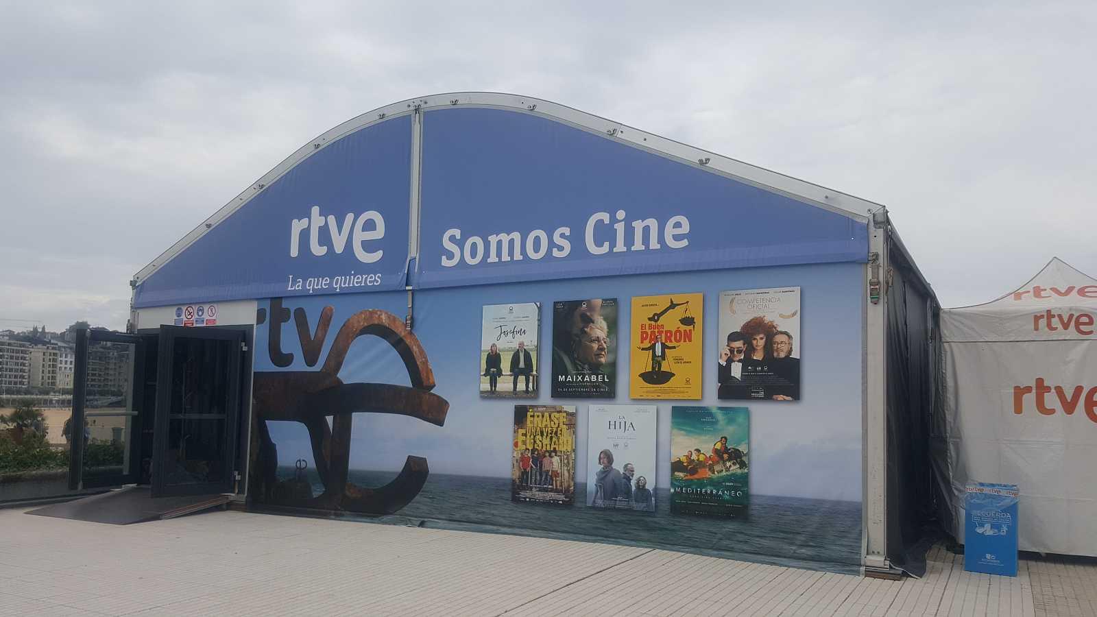 RTVE, en San Sebastián