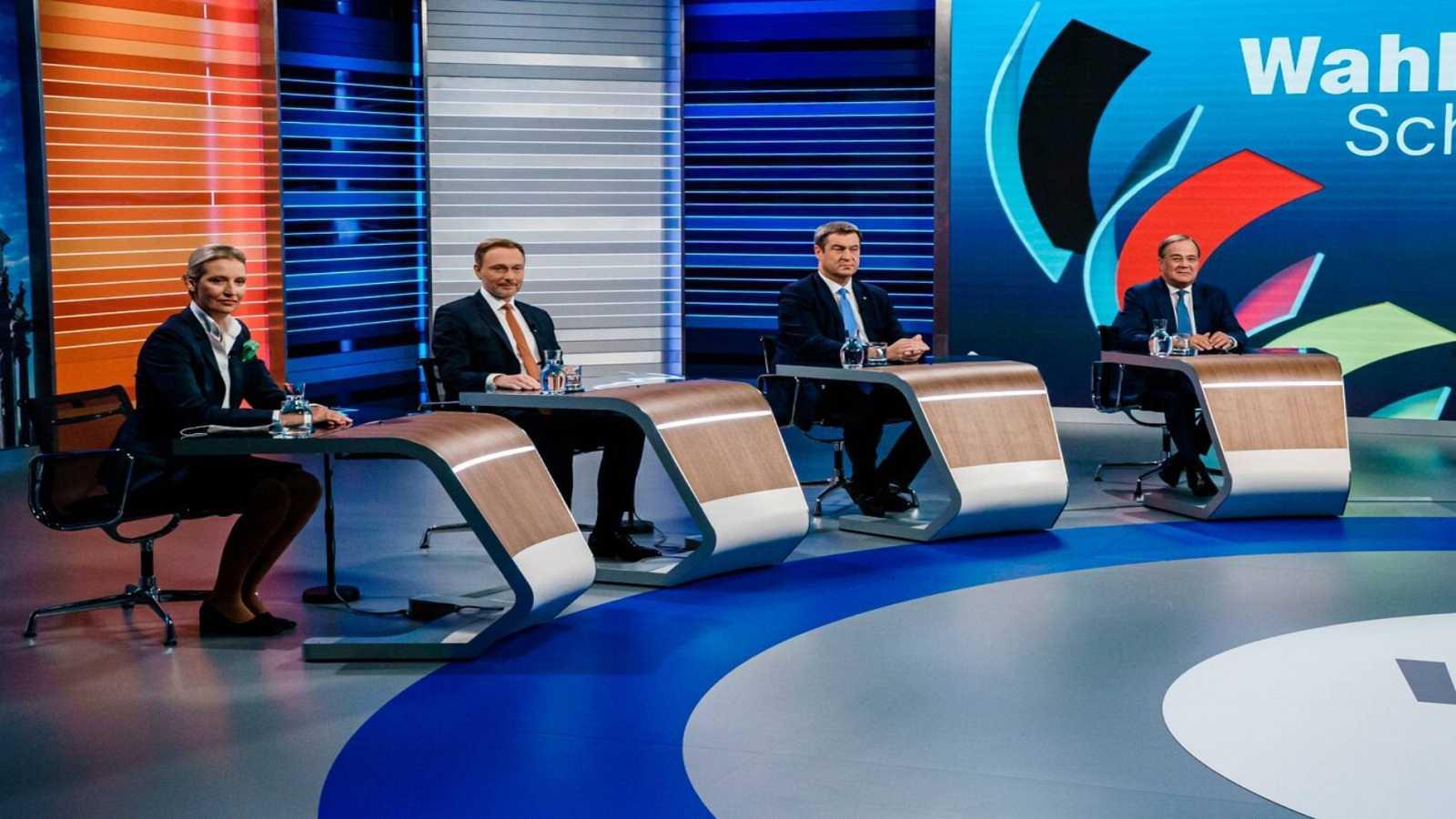 Debate candidatos Alemania