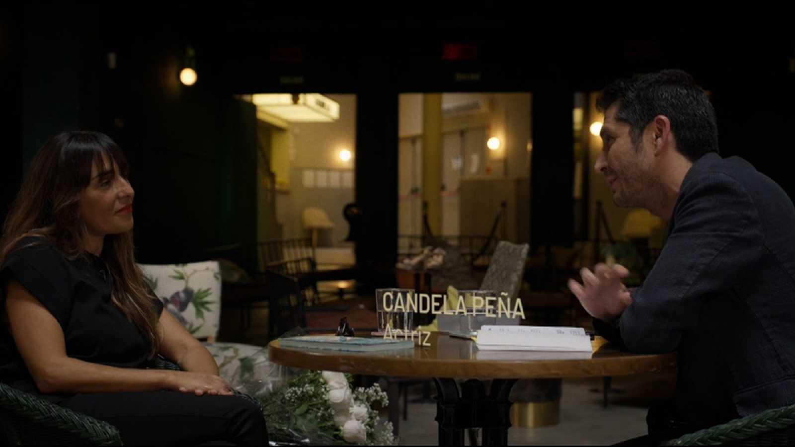 Carlos del Amor con Candela Peña