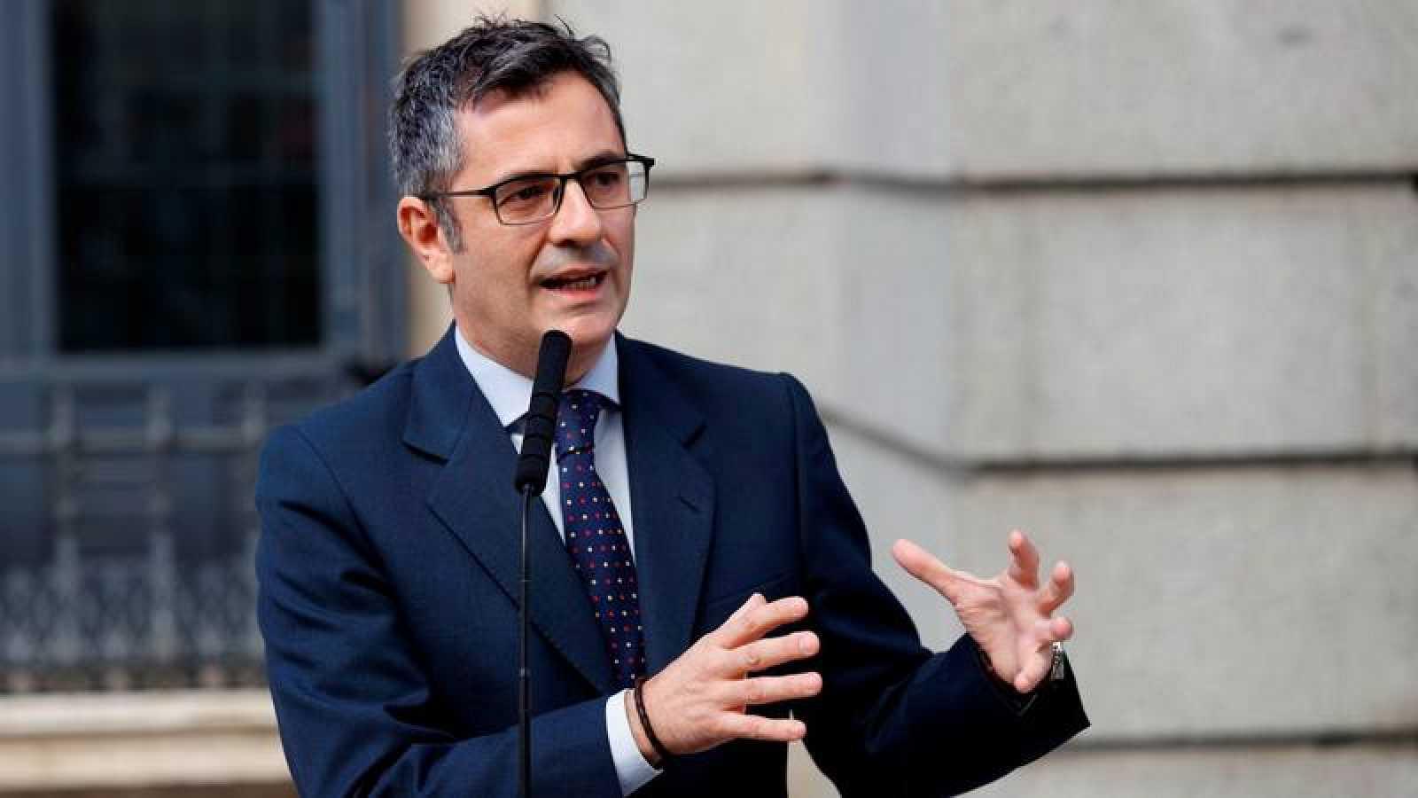 El ministro Bolaños se ha reunido con el Secretario General del PP, García Egea