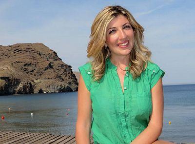 Mar Villalobos, reportera de 'Aquí la Tierra'