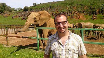 Koldo Arrastia, reportero de 'Aquí la Tierra'