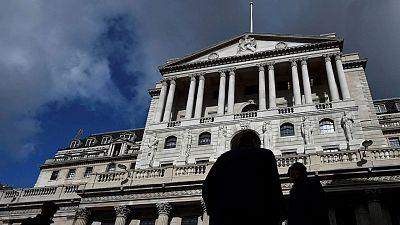 La sede del Banco de Inglaterra en una imagen de archivo
