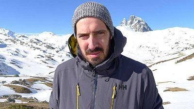 Vicente Rubio, reportero de Aquí la tierra
