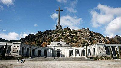 Imagen del Valle de los Caídos, en San Lorenzo de El Escorial.
