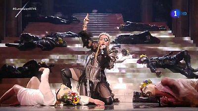 Así ha actuado Madonna en el Festival de Eurovisión 2019