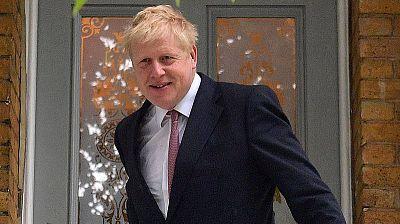 El exministro de Exteriores británico, Boris Johnson