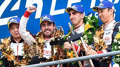 Fernando Alonso gana el Mundial de Resistencia tras imponerse en las 24 horas de Le Mans