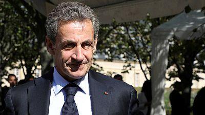 El expresidente de FranciaNicolas Sarkozy, en una imagen de archivo