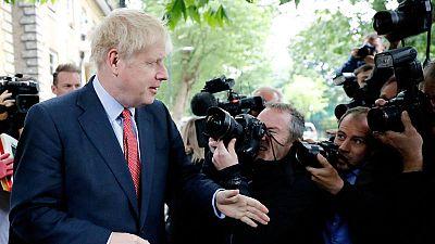 El favorito para suceder a Theresa May al frente de los conservadores, Boris Johnson