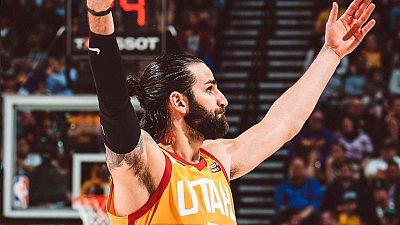 Rubio se despide de los Utah Jazz