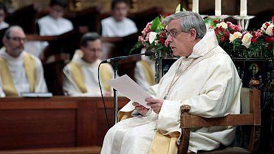 El Padre Abad de Montserrat, Josep María Soler, anunció en febrero la creación de una comisión para estudiar los casos de supuestos abusos sexuales en la comunidad.