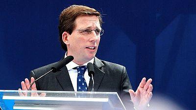 El alcalde de Madrid, José Luis Martínez-Almeida, en una imagen de archivo.