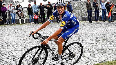 El español Enric Mas, del Quick Step, en la pasada Vuelta a Suiza.