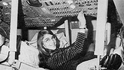 Margaret Hamilton diseñó el programa informático que se utilizó en la misión Apolo 11.
