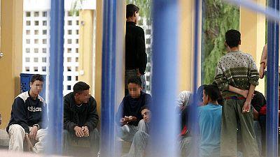 Imagen de archivo tomada en un centro de menores de Almería.