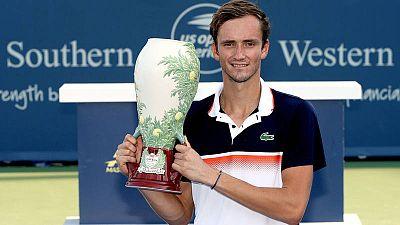 Medvedev logra su primer Masters 1000 en Cincinnati
