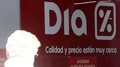 Un establecimiento de la cadena de supermercados Dia en Madrid