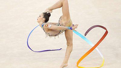 Polina Berezina, en el Mundial de Bakú.