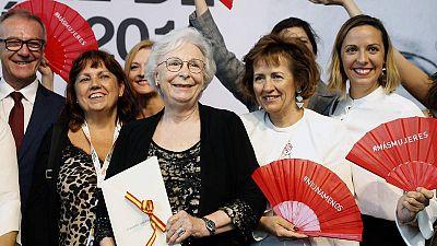 La directora de cine y guionista Josefina Molina recoge el Premio Nacional de Cinematografía 2019