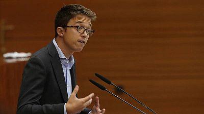 El portavoz de Más Madrid en la Asamblea de Madrid, Íñigo Errejón