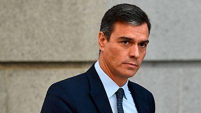 Imagen de archivo del presidente del gobierno en funciones, Pedro Sánchez