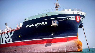 Imagen de archivo del buque británico Stena Impero
