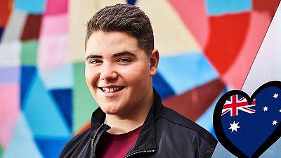 Jordan Anthony tiene 14 años y representará a Australia en Eurojunior