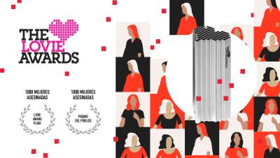 '1.000 mujeres asesinadas' gana plata y el premio del público en categoría de web social en los Lovie Awards