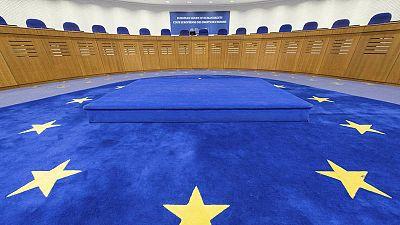 Sala del Tribunal Europeo de Derechos Humanos (TEDH) de Estrasbusgo en una imagen de archivo.