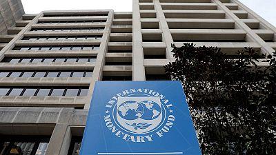 Fachada de la sede del FMI en Washington