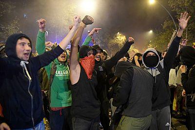 Fotogalería: tercera jornada de protestas en Cataluña por la sentencia del 'procés'