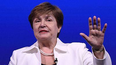 La directora gerente del Fondo Monetario Internacional (FMI), Kristalina Georgieva.