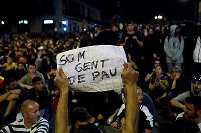 Fotogalería: sexta jornada de protestas en Barcelona por la sentencia del 'procés'