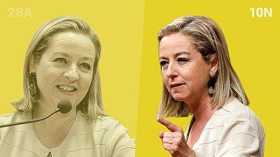 Ana Oramas, candidata de Coalición Canaria en las elecciones generales del 10N.