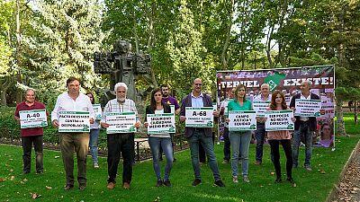 Los candidatos de Teruel Existe a las próximas elecciones generales para el Congres